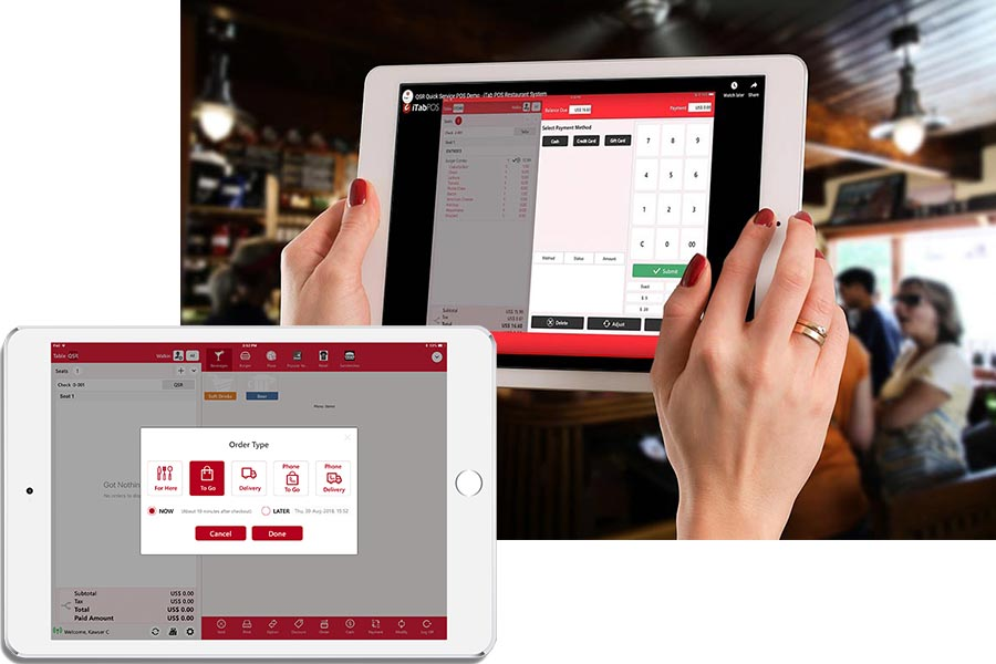 POS System for Visually Impaired and Blind - iTab POS